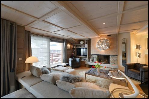 Квартира класса люкс в аренду Межев, 148 м², 3 Спальни,