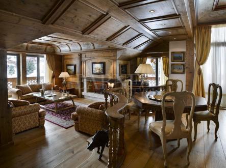 Appartement de luxe à louer COURCHEVEL, 140 m², 3 Chambres,