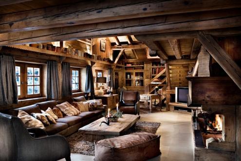 Chalet de luxe à louer MEGEVE, 1 m², 5 Chambres,