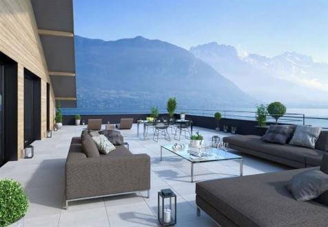 Luxus-Wohnung zu verkaufen SEVRIER, 77 m², 2 Schlafzimmer, 579000€