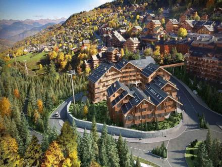 Luxus-Wohnung zu verkaufen MERIBEL LES ALLUES, 56 m², 1 Schlafzimmer, 531667€