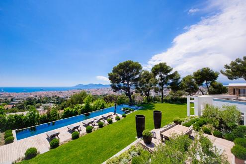 Luxury House for rent CANNES, 350 m², 6 Bedrooms,
