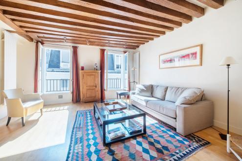 Квартира класса люкс на продажу  Париж 6ой, 83 м², 2 Спальни, 1450000€