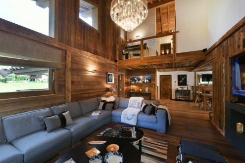 Luxury Chalet for rent MEGEVE, 330 m², 5 Bedrooms,