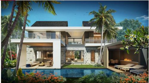 Villa de luxe à vendre Ile Maurice, 280 m², 2 Chambres, 2318584€