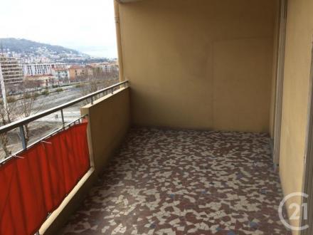 Квартира класса люкс в аренду Ницца, 57 м², 2 Спальни, 950€/месяц