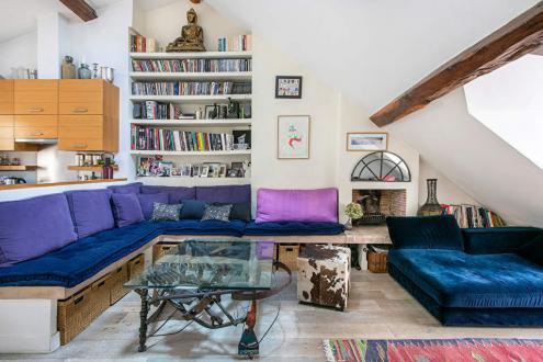 Квартира класса люкс на продажу  Париж 6ой, 118 м², 3 Спальни, 1850000€