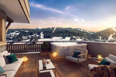 Luxury Apartment for sale LES GETS, 66 m², 2 Bedrooms, €745000