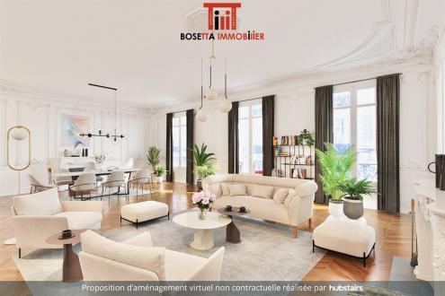 Appartement de luxe à vendre PARIS 8E, 181 m², 3 Chambres, 3900000€