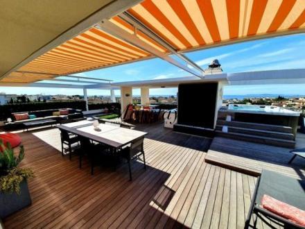 Квартира класса люкс на продажу  Кань-Сюр-Мер, 151 м², 2 Спальни, 1199000€