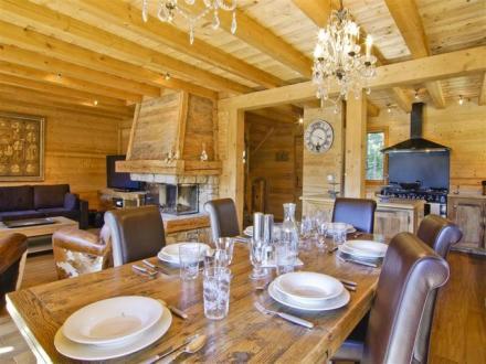 Chalet de luxe à louer CHAMONIX MONT BLANC, 210 m², 5 Chambres,