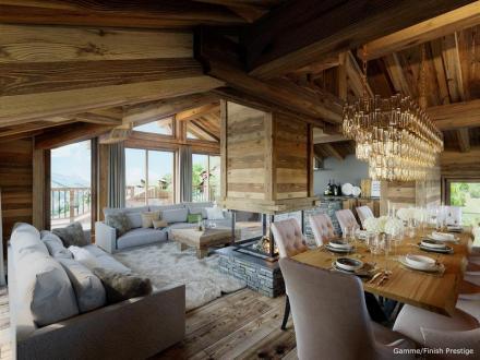 Luxus-Chalet zu verkaufen SAINT MARTIN DE BELLEVILLE, 280 m², 6 Schlafzimmer, 3474000€