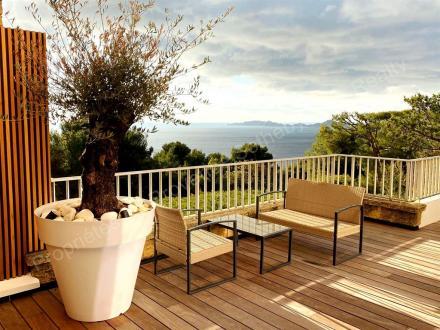 Appartement de luxe à louer MARSEILLE, 125 m², 3 Chambres, 4800€/mois