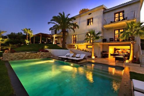 Luxus-Haus zu vermieten VALLAURIS, 6 Schlafzimmer,