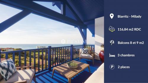 Appartement de luxe à vendre BIARRITZ, 116 m², 3 Chambres, 1123714€
