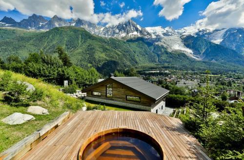 Luxus-Chalet zu vermieten CHAMONIX MONT BLANC, 340 m², 5 Schlafzimmer,