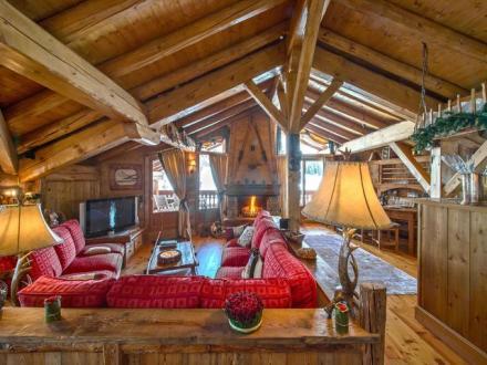 Chalet de luxe à louer COURCHEVEL, 400 m², 4 Chambres,