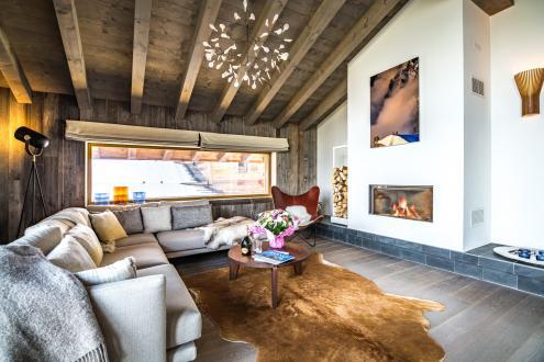 Chalet de luxe à louer COMBLOUX, 1 m², 4 Chambres,
