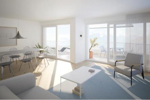 Appartement de luxe à vendre Vevey, 85 m², 2 Chambres, 950000CHF
