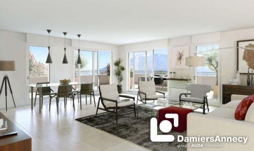 Luxus-Wohnung zu verkaufen SEVRIER, 75 m², 2 Schlafzimmer, 527000€