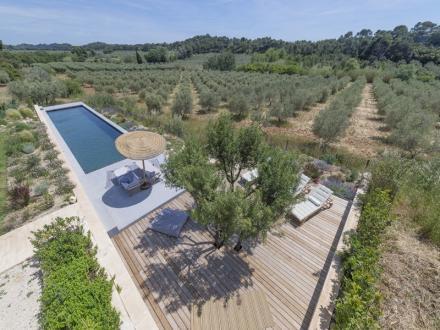 Luxus-Haus zu vermieten MAUSSANE LES ALPILLES, 380 m², 6 Schlafzimmer,