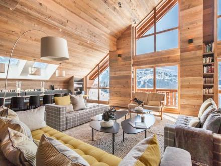 Luxus-Wohnung zu vermieten MERIBEL LES ALLUES, 230 m², 5 Schlafzimmer,