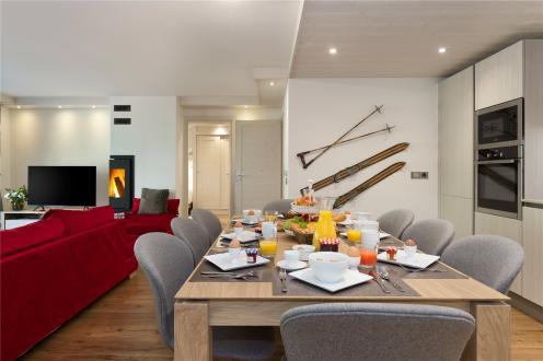 Luxus-Wohnung zu verkaufen MERIBEL LES ALLUES, 119 m², 4 Schlafzimmer, 1925000€