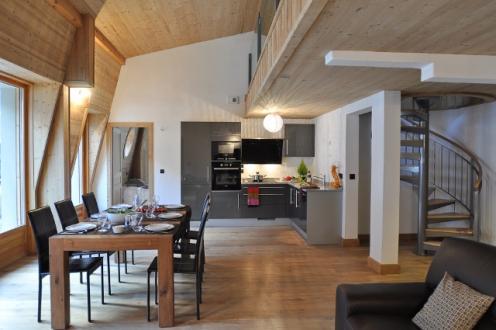 Appartement de luxe à louer CHAMONIX MONT BLANC, 175 m², 4 Chambres,