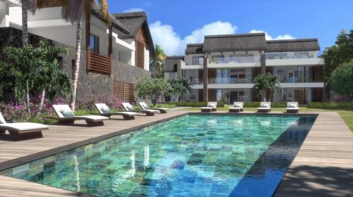 Квартира класса люкс на продажу  Маврикий, 222 м², 3 Спальни, 1325000€