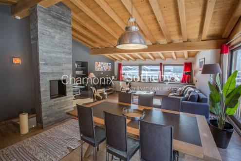 Chalet de luxe à vendre CHAMONIX MONT BLANC, 90 m², 3 Chambres, 598000€