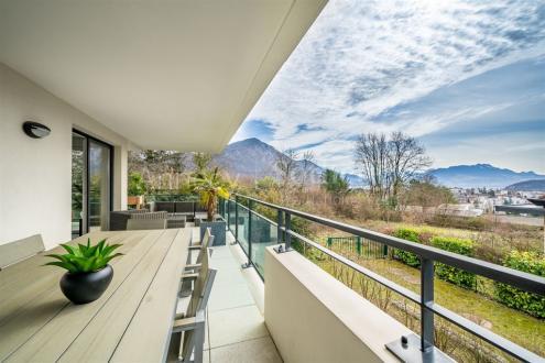 Luxus-Wohnung zu verkaufen ANNECY LE VIEUX, 112 m², 3 Schlafzimmer, 1145000€