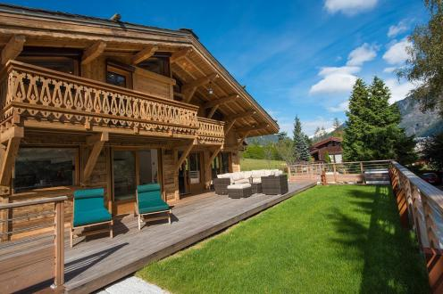 Luxury Chalet for rent CHAMONIX MONT BLANC, 300 m², 6 Bedrooms,