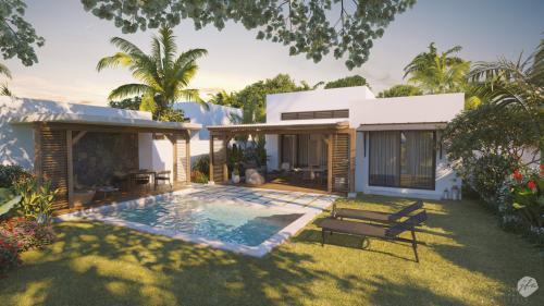Luxus-Haus zu verkaufen Mauritius, 178 m², 3 Schlafzimmer, 814000€