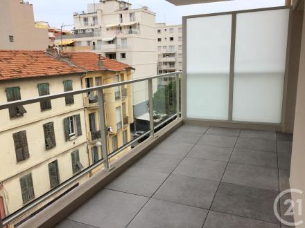 Luxus-Wohnung zu vermieten Nizza, 60 m², 2 Schlafzimmer, 1220€/monat