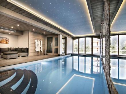 Casale di lusso in affito COURCHEVEL, 450 m², 6 Camere,