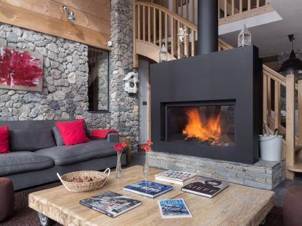 Luxury House for rent MERIBEL LES ALLUES, 230 m², 6 Bedrooms,