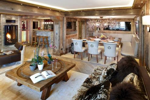 Luxus-Wohnung zu vermieten COURCHEVEL, 420 m², 6 Schlafzimmer,