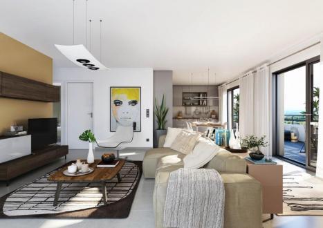 Appartement de luxe à vendre LYON, 127 m², 4 Chambres, 1060000€