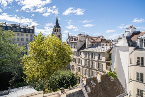Квартира класса люкс на продажу  Париж 6ой, 71 м², 1 Спальни, 1550000€