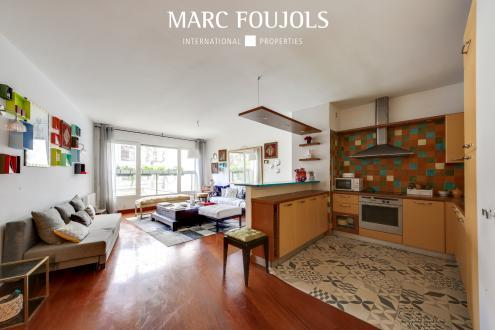 Luxus-Wohnung zu vermieten PARIS 16E, 66 m², 1 Schlafzimmer, 2700€/monat