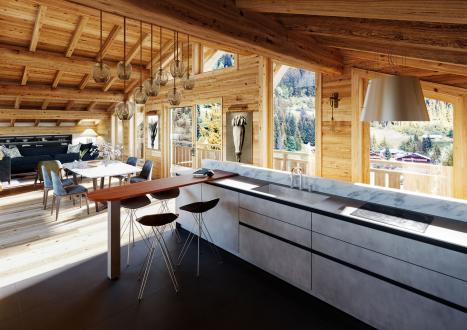 Luxus-Wohnung zu verkaufen CHATEL, 145 m², 4 Schlafzimmer, 1490000€