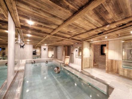 Luxus-Chalet zu vermieten MEGEVE, 500 m², 7 Schlafzimmer,