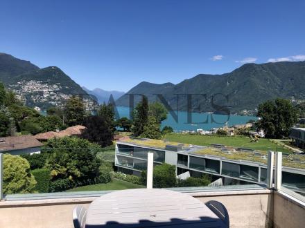 Luxus-Wohnung zu vermieten Gentilino, 160 m², 3000CHF/monat