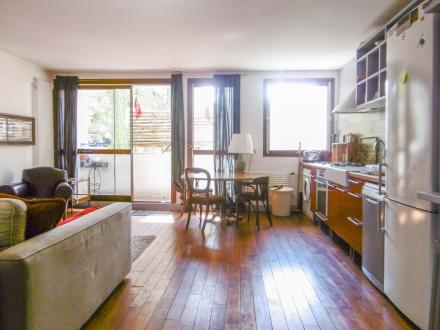 Luxus-Wohnung zu vermieten PARIS 16E, 48 m², 1 Schlafzimmer, 1600€/monat