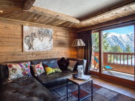 Luxus-Wohnung zu vermieten COURCHEVEL, 60 m², 3 Schlafzimmer,