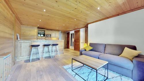 Квартира класса люкс в аренду Межев, 43 м², 1 Спальни,