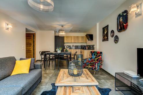 Luxury Apartment for rent CHAMONIX MONT BLANC, 57 m², 2 Bedrooms,