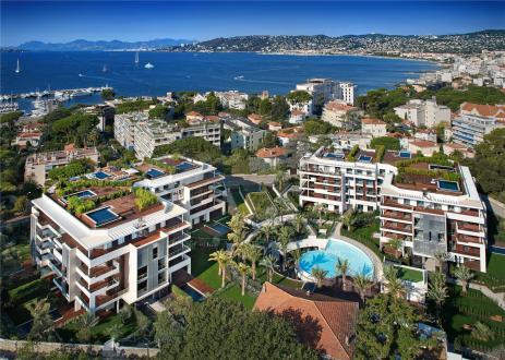 Luxus-Wohnung zu verkaufen CAP D'ANTIBES, 43 m², 1 Schlafzimmer, 587500€