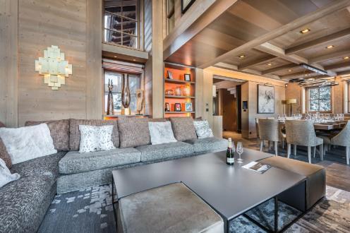 Casale di lusso in affito COURCHEVEL, 900 m², 6 Camere,