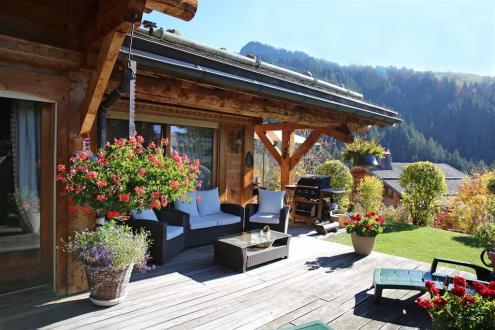 Chalet de luxe à vendre LE GRAND BORNAND, 230 m², 5 Chambres, 1470000€
